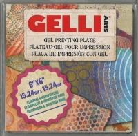 GELLI Arts Gel Printing Plate 6 x 6 15,24cm x 15,24cm