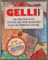 GELLI Arts Gel Printing Plate 8 x 10 20,32cm x 25,40cm