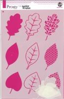 Pronty Mask Stencil A4 - Leaves