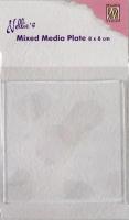 Nellies Choice Gelplatte quadratisch 8cm x 8cm