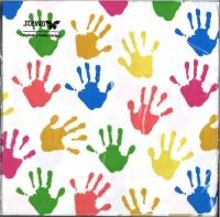 Servietten Hands