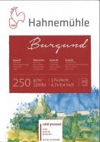 Aquarellblock Burgund matt 17cm x 24cm