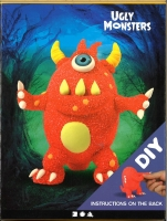 Ugly Monsters Bastelpackung - Rotes Monster
