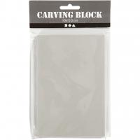 Arbeitsblock für Linoldruck 10cm x 15,5cm