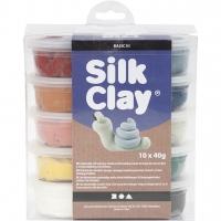 Silk Clay Modelliermasse 10x40g Basic 3 - Staubtöne