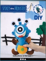 Bastelpackung Spikey the Monster