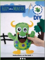 Bastelpackung Fuzzy the Monster