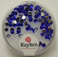 Rayher Plastik-Strassteine 3mm saphir