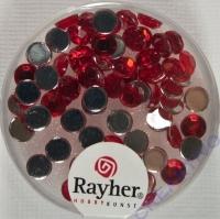 Rayher Plastik-Strassteine 5mm rubin