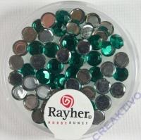 Rayher Plastik-Strassteine 5mm smaragd