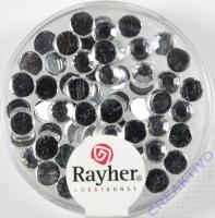 Rayher Plastik-Strassteine 5mm bergkristall