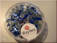 Rayher Plastik-Strassteine 5mm saphir