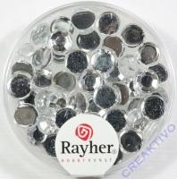 Rayher Plastik-Strassteine 6mm bergkristall