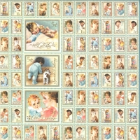 Scrapbooking-Papier Little Darlings - New Arrival (Restbestand)
