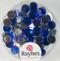 Rayher Plastik-Strassteine 6mm saphir
