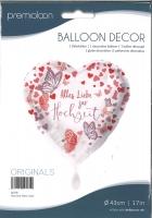 Folienballon Alles Liebe zur Hochzeit