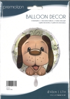 Folienballon Playful Dog