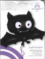Folienballon XXL Black Bat