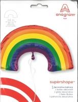 Folienballon XXL Rainbow