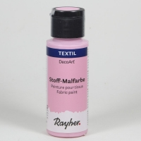 DecoArt Stoffmalfarbe 59ml babyrosa