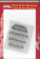 Clearstamp Textstempel Veschiedene 7