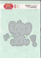 Craft & You Cutting Die Elefant