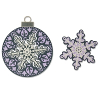 Sizzix Thinlits Die Set 6PK - Layered Snowflake