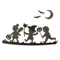Sizzix Thinlits Die Set 6PK - Halloween Silhouettes