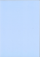 Transparentpapier A4 115g/qm hellblau extra stark