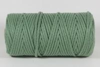 Macramé Garn, 4mm ø jade