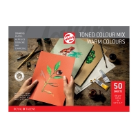 Toned Colour Mix Papier warm A4
