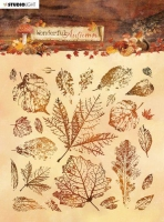 Studio Light Stamp 15x15cm Wonderful Autumn Nr. 483