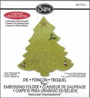 Sizzix BigZ Stanze Weihnachtsbaum incl. Embossing-Folder