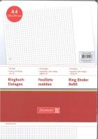 Ringbuch-Einlagen A4 kariert mit Rand