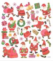 Sticker Klassische Weihnachtsfiguren