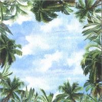 ScrapBoys Summer Breeze paper sheet Motiv 02