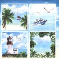 ScrapBoys Summer Breeze paper sheet Motiv 05