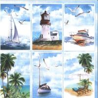ScrapBoys Summer Breeze paper sheet Motiv 06