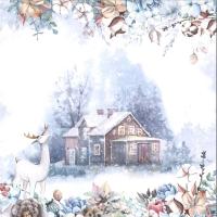 ScrapBoys Cotton Winter paper sheet Motiv 01