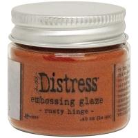 Tim Holtz Distress Embossing Glaze - rusty hinge
