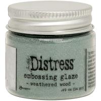 Tim Holtz Distress Embossing Glaze - weathered wood