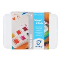 Van Gogh Aquarell Pocketbox - Vibrant colours