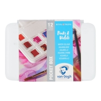 Van Gogh Aquarell Pocketbox - Pinks & Violets