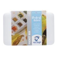 Van Gogh Aquarell Pocketbox - Shades of nature
