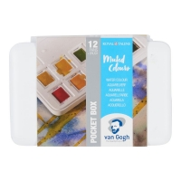 Van Gogh Aquarell Pocketbox - Muted colours