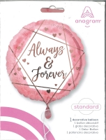 Folienballon Always & Forever