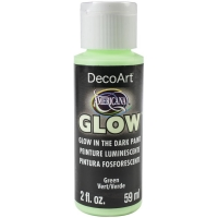 DecoArt Glow in the dark green
