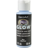 DecoArt Glow in the dark blue