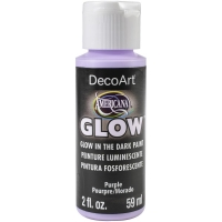 DecoArt Glow in the dark purple