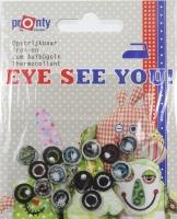 Eye see you! - Augen zum Aufbügeln